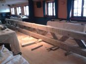 New Beam for Listed Building